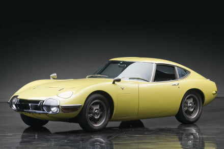 Toyota 2000GT front three quarter