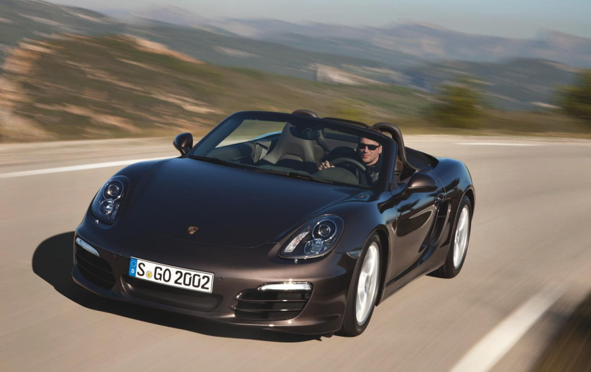 porsche four cylinder engine technical specs  boxster