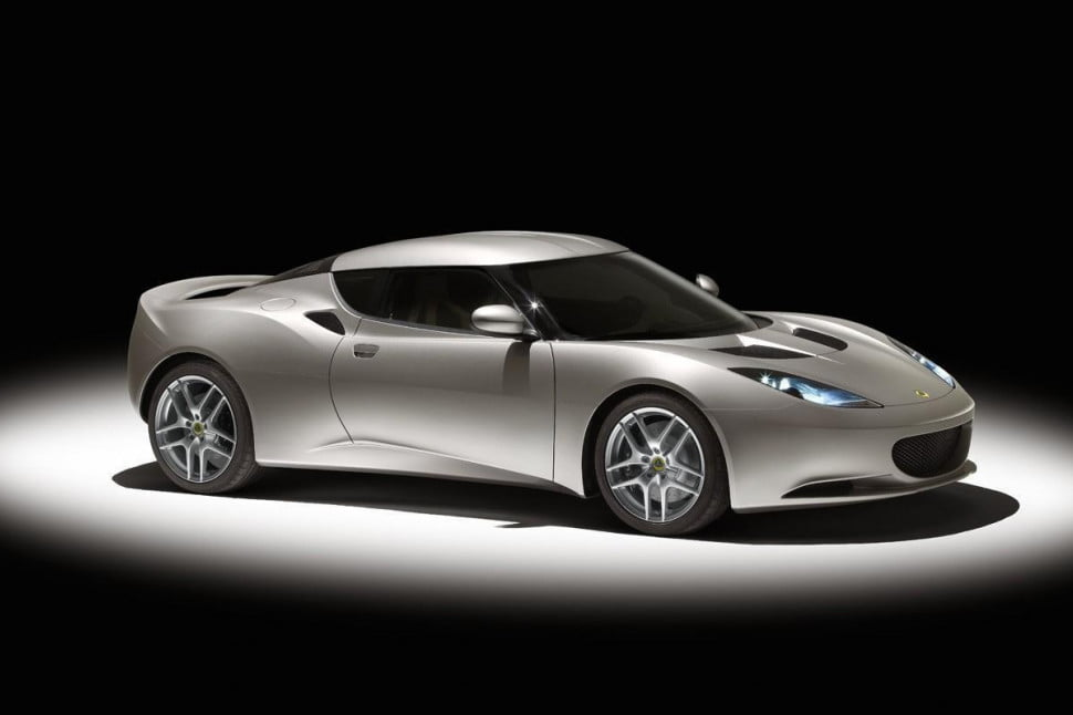 lotus new car geneva motor show evora
