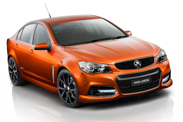 Holden VF Commodore SS V front three quarter