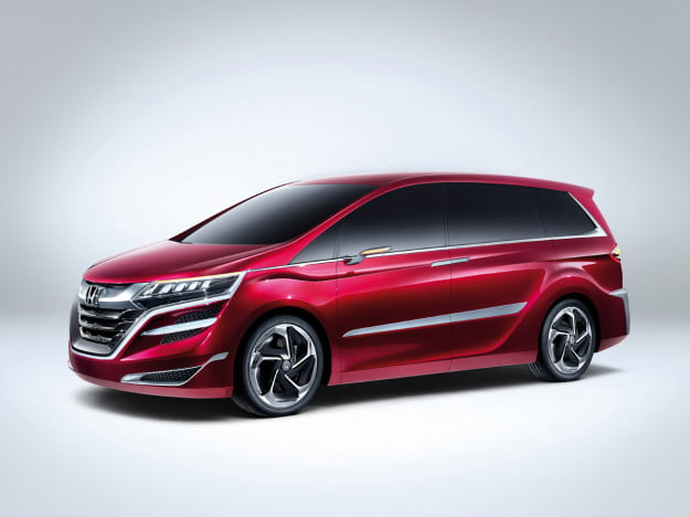 Honda Concept M front three quarter