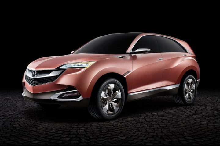honda acura to show crossovers in beijing  suv x concept