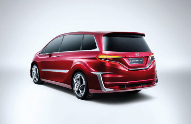 Honda Concept M rear three quarter