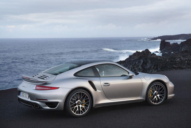 video  porsche turbo stays slippery with active aerodynamics and s most iconic gets a high tech makeover