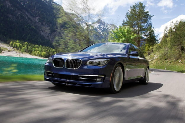 2013 BMW Alpina B7 front three quarter motion