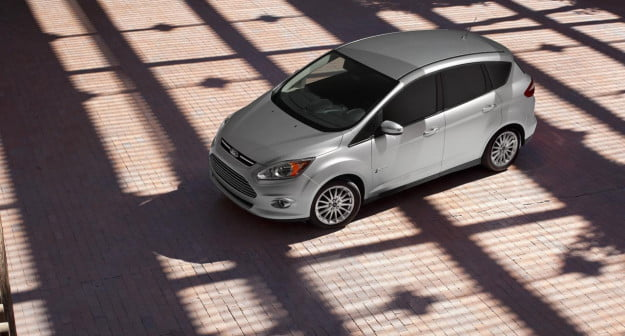 Ford C-Max Hybrid overhead