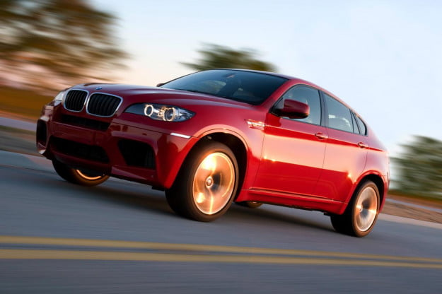 BMW X6 M action shot