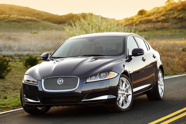 Jaguar XF Supercharged front three quarter