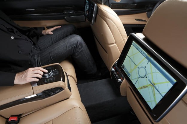 Mobility and milestones: 2012 BMW ConnectedDrive system adds 3D maps, touchpad, and 4G LTE hotspot