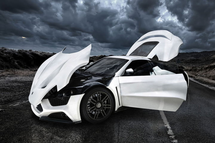 the top ten most expensive cars in world  million zenvo st