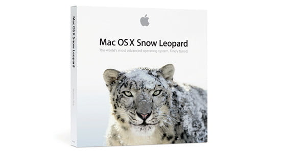 Mac OS X Snow Leopard Packaging