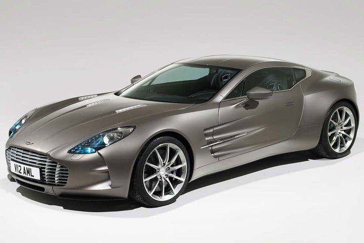 the top ten most expensive cars in world  million aston martin one