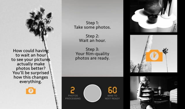 hour photo app brings feeling film photography mobile devices screenshots