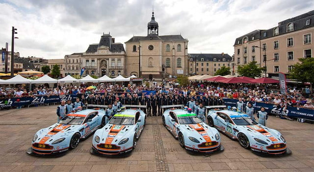 aston martins werent cool enough gt cars getting ac powered sun  le mans