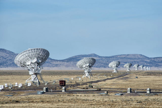 snowden aliens encryption  px very large array