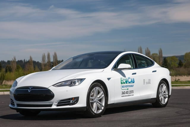 ecocab bringing tesla model s taxis to portland