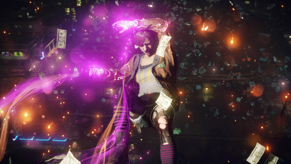 leap tall buildings january  s playstation plus instant game collection freebies infamous first light screenshot