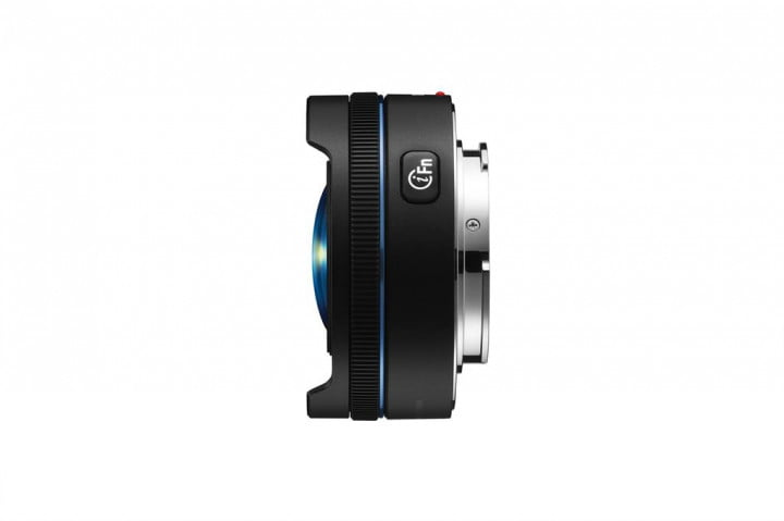 samsung grows nx lens lineup with  mm f fisheye smallest on the market black( )