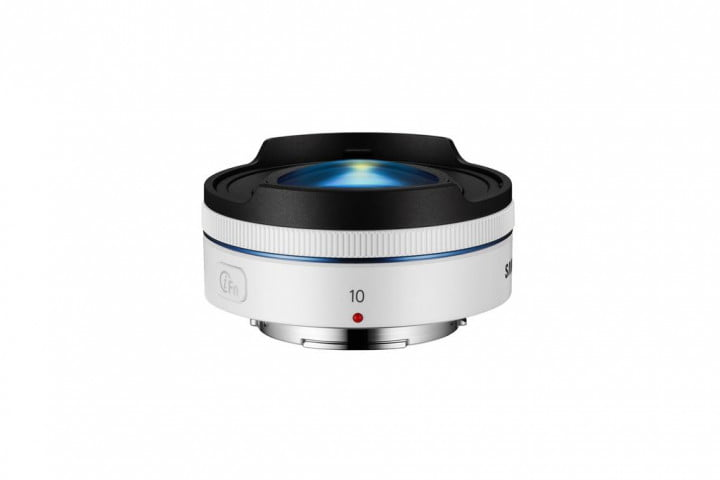 samsung grows nx lens lineup with  mm f fisheye smallest on the market white( )