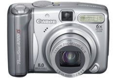 canon powershot a  is review