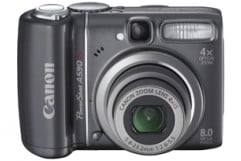 Canon PowerShot A590 IS Review