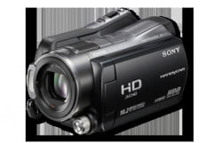 sony hdr sr  review