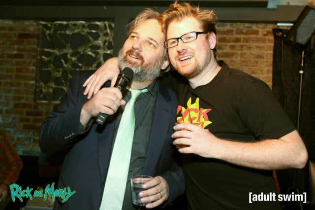 rick and morty simpsons writers joint mst k reboot dan harmon justin roiland