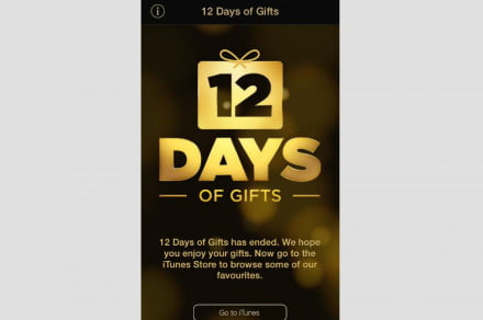 12 days of gifts ends