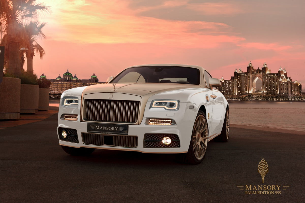 mansory palm edition  rolls royce wraith pictures specs