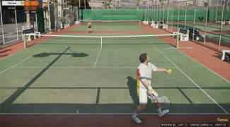 'GTA 5' was released this week, and it features some of the most violent tennis since Monty Python.