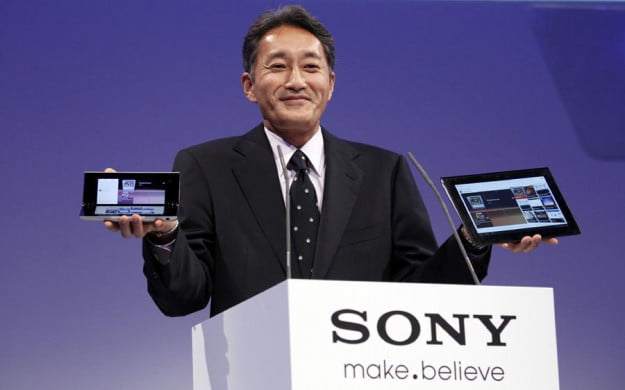 Sony posts record annual loss