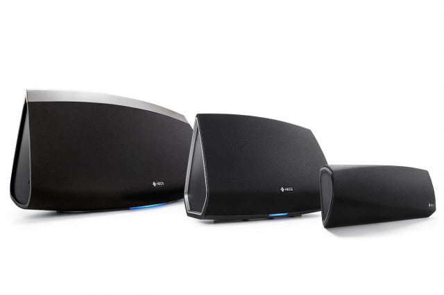 denon takes sonos new heos wireless speaker series  familyshot edit