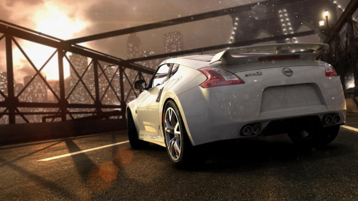behind the wheel in ubisofts open world multiplayer racing game crew  thecrew render nissan z(z ) street nologo e pm