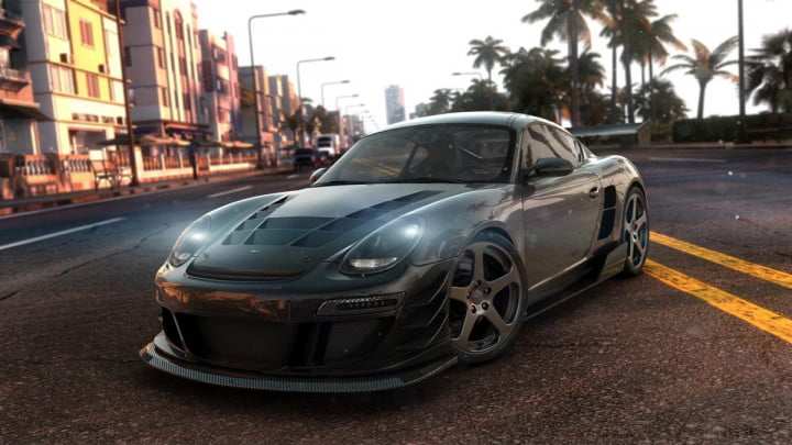 behind the wheel in ubisofts open world multiplayer racing game crew  thecrew render ruf k perf nologo e pm