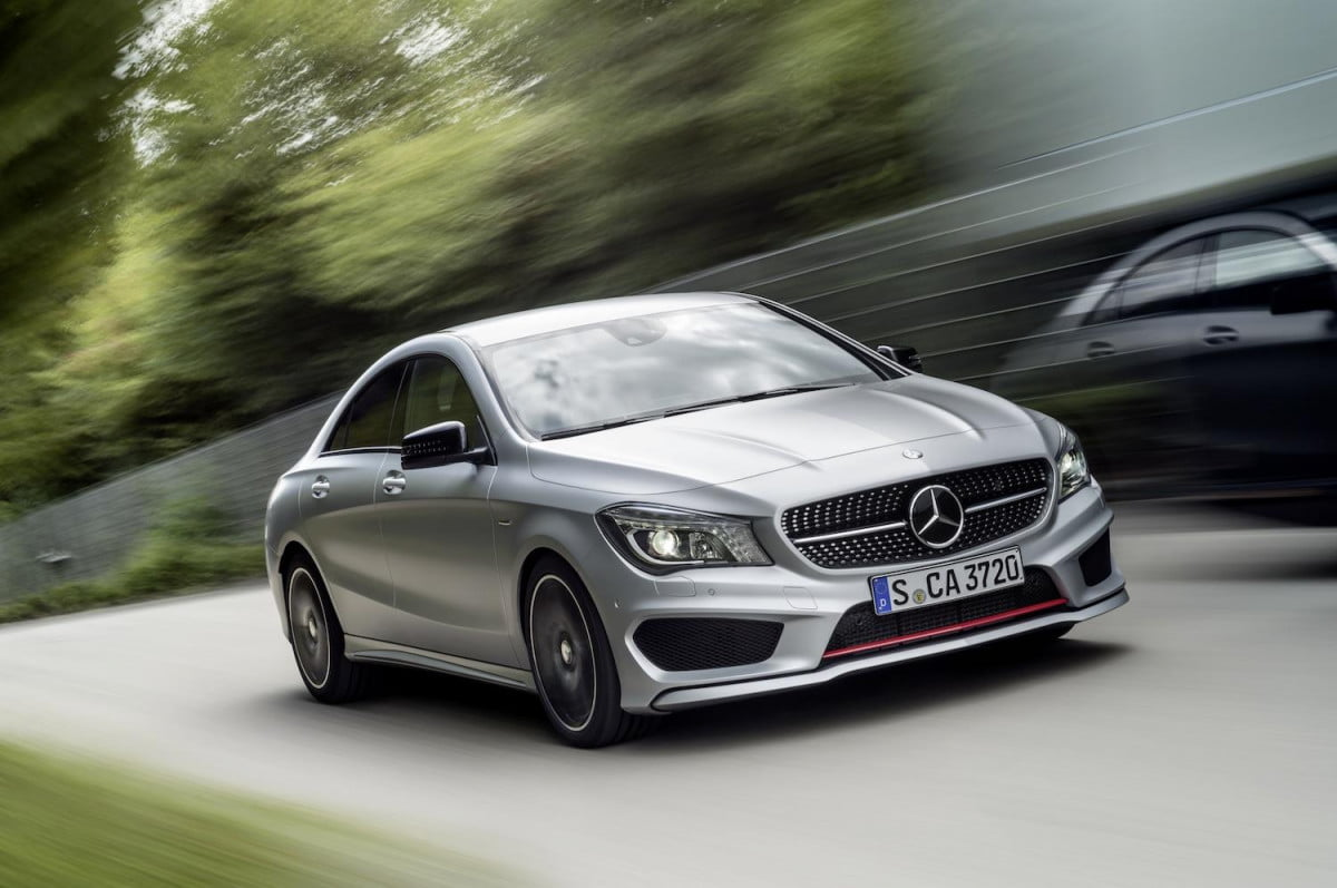 the mercedes benz cla  sport wont break your bank account or girlfriends back c
