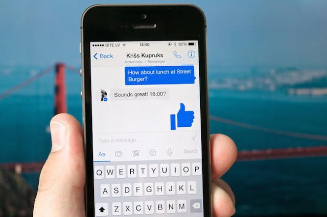 facebook messenger adds videos big thumbs