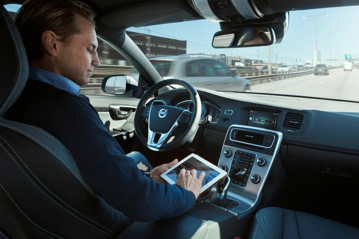 bosch expects see self driving cars  years volvo drive me car program