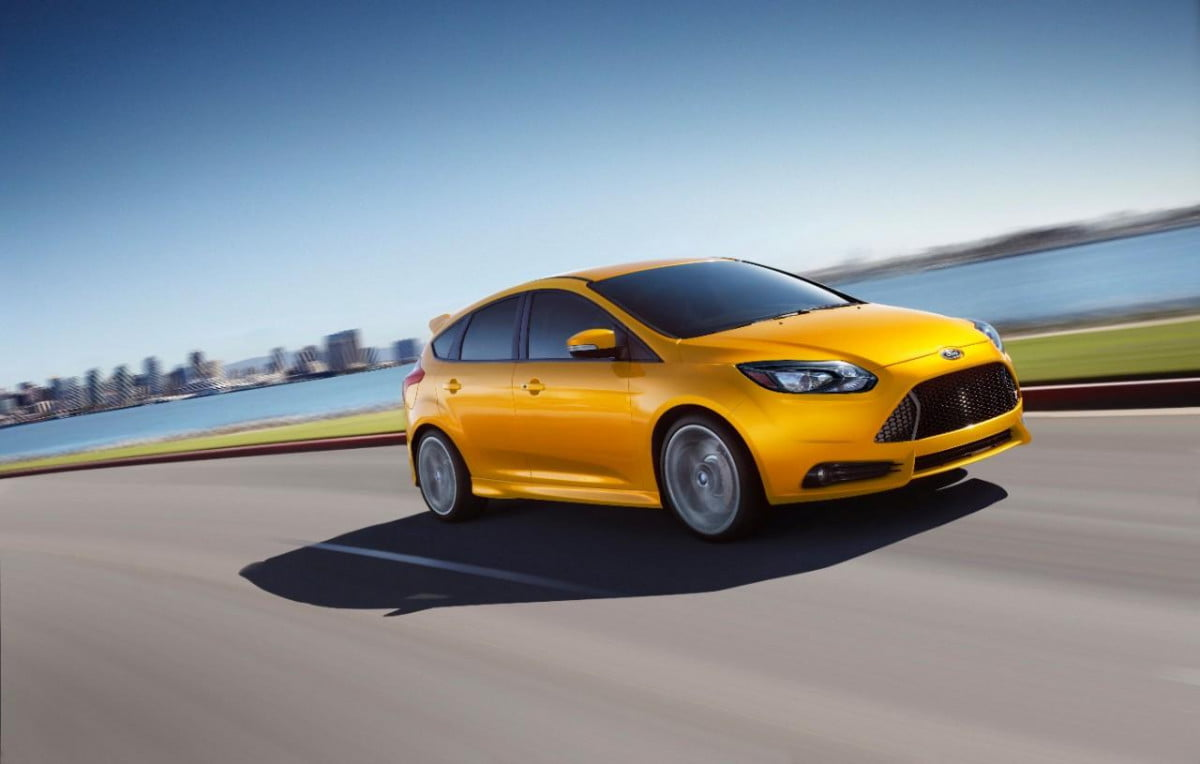 ford focus st diesel announced