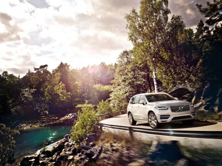 the volvo xc  t hybrid make it easy being green all new