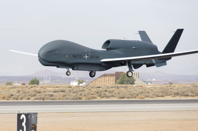 A U.S. Air Force Global Hawk