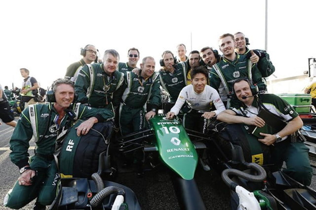 caterham f  team assets go to auction marks end of the c e b