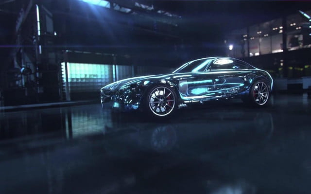 mercedes benz amg gt to be unveiled september  teaser
