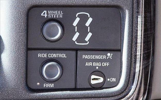 GMC Quadrasteer control panel