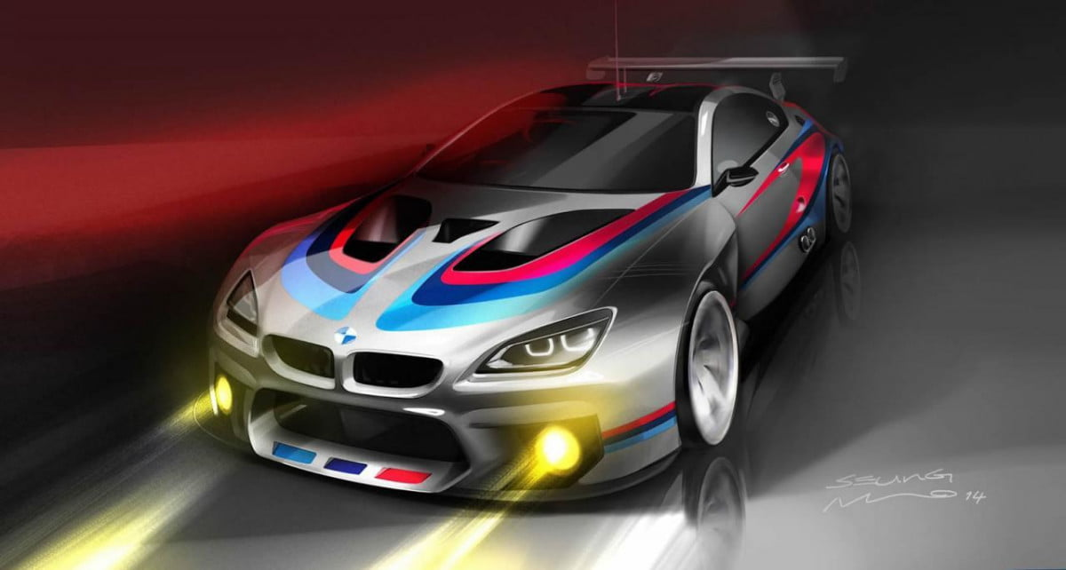 bmw motorsport developing m  gt racecar will available order