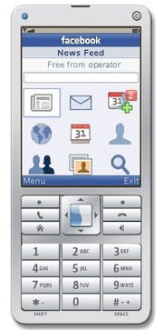 Facebook for feature phone