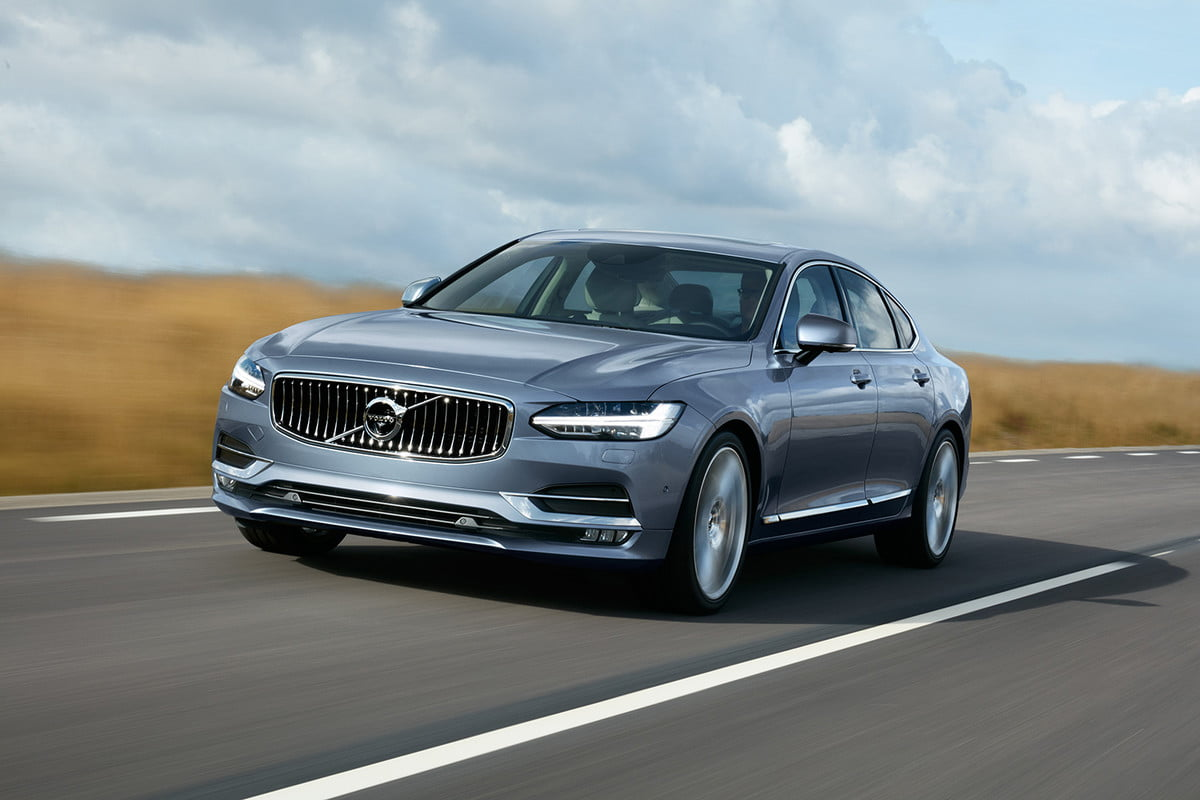 volvo  hp s v polestar models location front quarter mussel blue