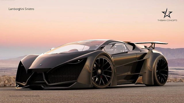 insane looking lamborghini rendering makes us wish car sized  d printer n