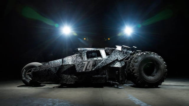 batman tumbler replica barred from gumball  by team galag