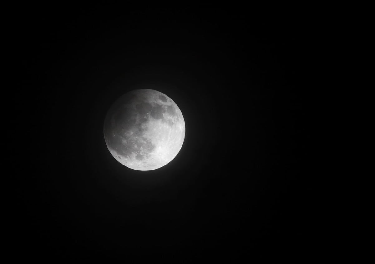 night sky trifecta february  partial lunar eclipse on april at bahrain