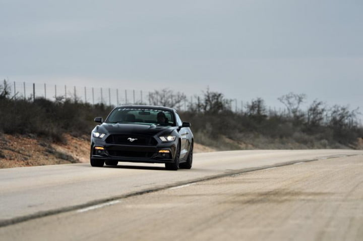 hennessey hpe  mustang mph